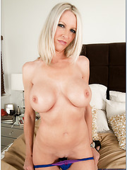 Astounding and married blonde milf Emma Starr has wild sex with her lover