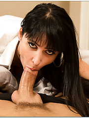 Arrogant and provocative brunette business lady Eva Karera fucked in the ass
