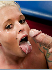 Hardcore sport fuck with a horny blonde babe named Angel Vain