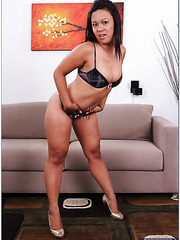Appealing Asian Tasha Lynn showing some love and boobs when posing