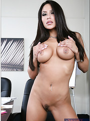 Exceptional milf Jenaveve Jolie with her sweet big boobs showing off