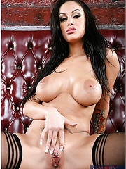 Erotic and smoking hot whore Angelina Valentine showing her horny body