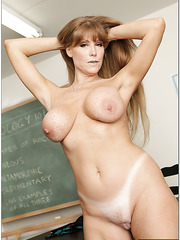 Awesome mature with dream tits Darla Crane is one of the hottest teachers