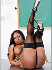 Passionate interracial fuck with a gorgeous babe named Jada Fire