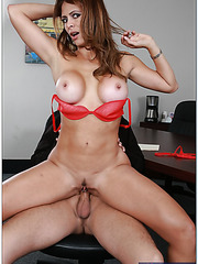 So hot, hardcore and busty lady as Monique Fuentes needs a big cock