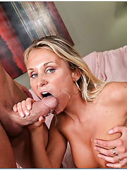 Exceptional whore Laura Crystal is having her pussy drilled deep and fast