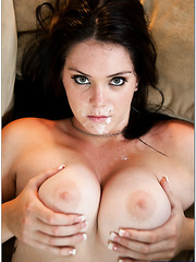 Marvelous MILF Alison Tyler is pleasing her boyfriend with her big tits