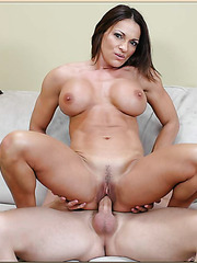 Athletic body of this milf Kristine Madison will definitely leave you pleased