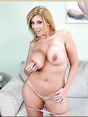 Amaizng Sara Jay can blow your mind and your cock with her crazy looks