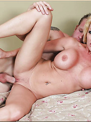 Good-looking mature bitch Dani Sexton being owned in a doggy-style position