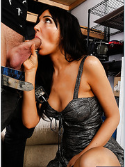 Alluring harlot Diana Prince wants to be nailed only in doggystyle