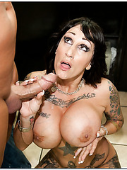 Sparkling cutie Deja Voo showing her beauty and getting pounded hard