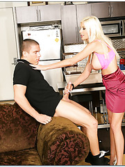 Delicate whore Puma Swede getting drilled by her new hot boyfriend
