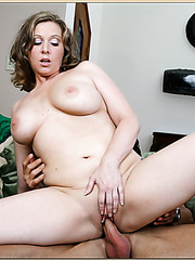 Goodly babe Keira Kensley taking off panties and tasting a big cock