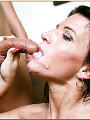 First-class whore Kendra Secrets demonstrates and awesome deepthroat