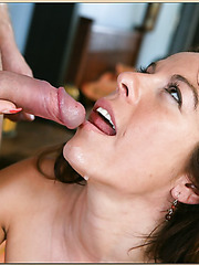 Stunning milf Kora Peters spreading nice ass and getting pounded