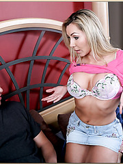 Zingy slut Lisa Demarco shows her secret skills and gets penetrated