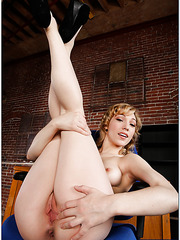 Naughty milf Lily LaBeau takes a strong dick in the wet and sweet mouth