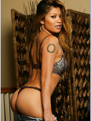 Astounding Asian bombshell Charmane Star demonstrates awesome sex in her favorite poses