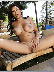 Exceptional bombshell Priya Anjali Rai gets dick in her shaved pussy