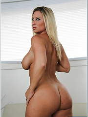Happy slut Devon Lee showing big ass and taking off all her clothes