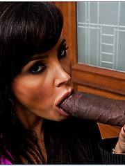Classy milf Lisa Ann doing naughty things with her black-skinned friend