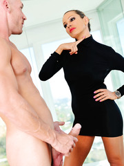 Winning whore Ava Addams banging hard with her lovely neighbor