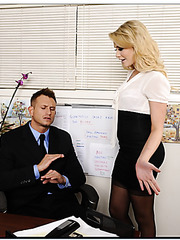 Perfect boss Mia Malkova banging with her employee to get fully satisfied