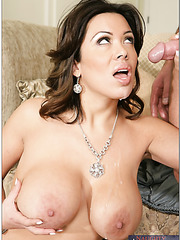 Staggering mom Sienna West prefers big young cocks and gets satisfied