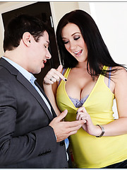 Flawless whore Jayden Jaymes adores banging with neighbors and eating load