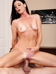 Staggering wife with small tits India Summer adores working with yummy rods