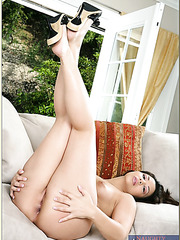 Erotic babe Sophie Del Mar jilling sissy and doing miracles with her friend's rod