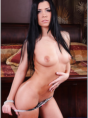 Giggly slut Rebeca Linares fucking really hard and reaching multiple orgasms