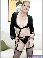 Staggering milf Cherrie Rose masturbating all day long and waiting for a cock