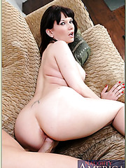 Nasty brunette Carrie Ann loves swallowing delicious rods and fucking