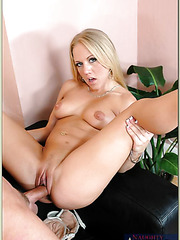 Stunning pornstar Kylie Wilde loves spreading ass and banging with friends