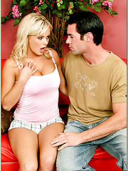 High-class whore Bree Olson banging with muscled fellow and getting pleased