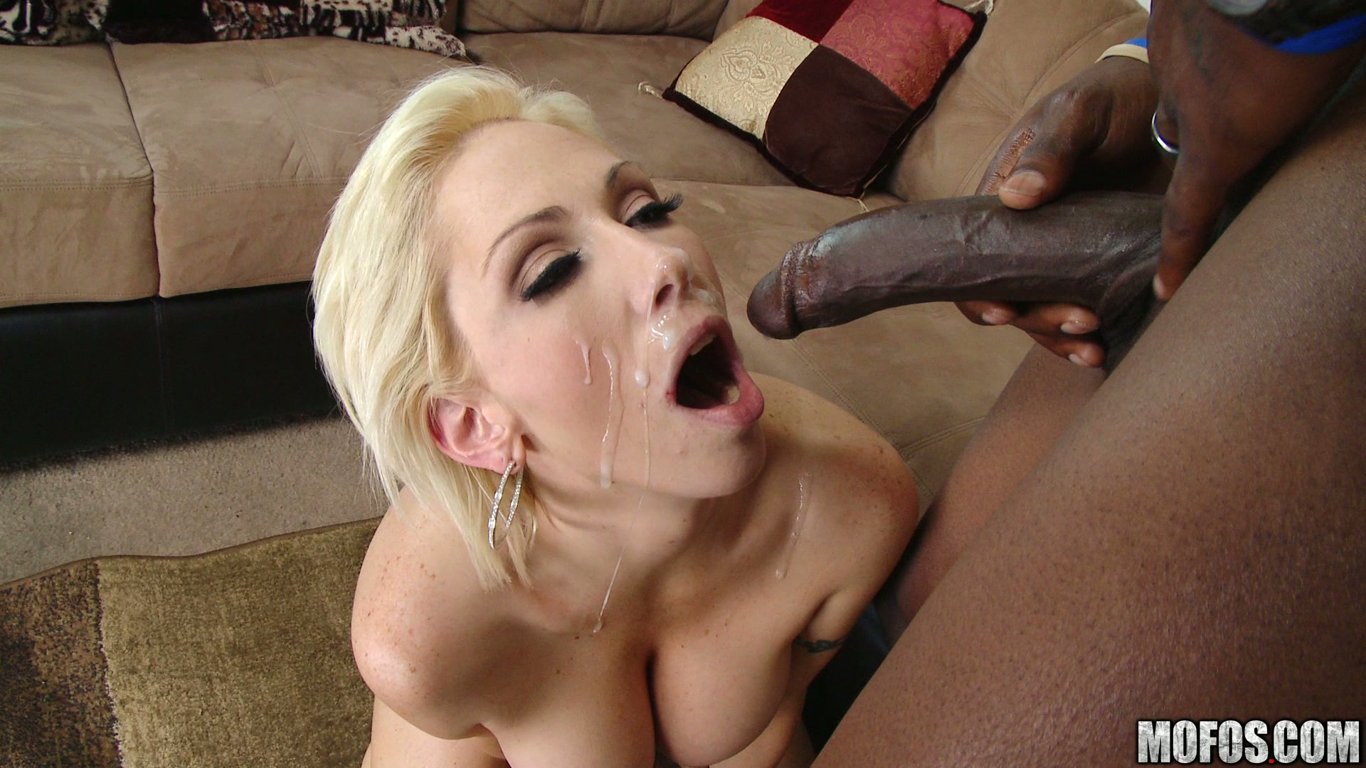 Deepthroat swallow pornstar whole