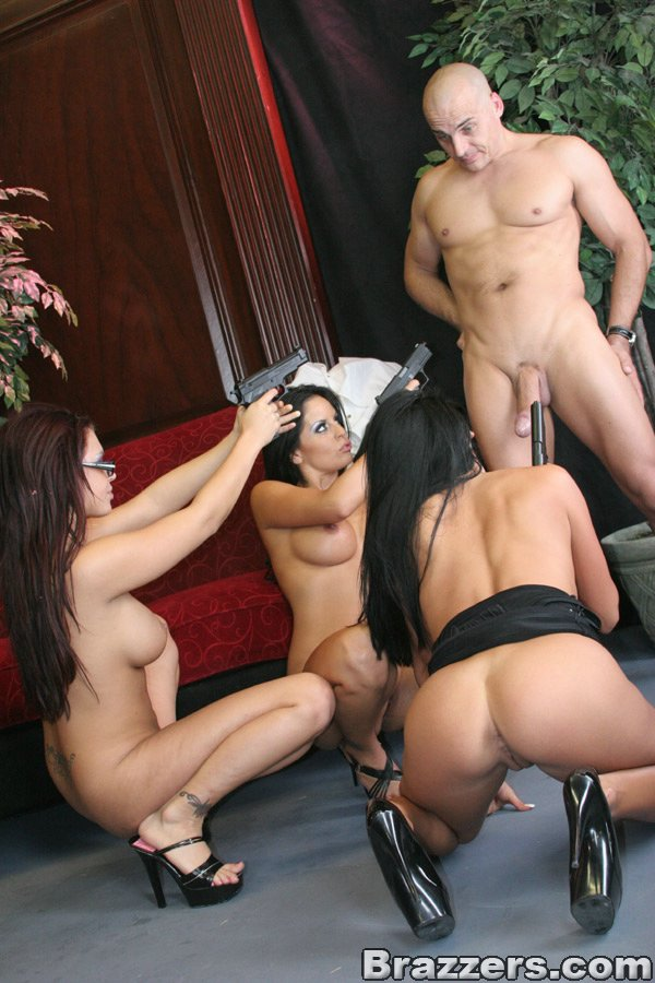 A hot foursome for a stunning asian girl pr - 1 1
