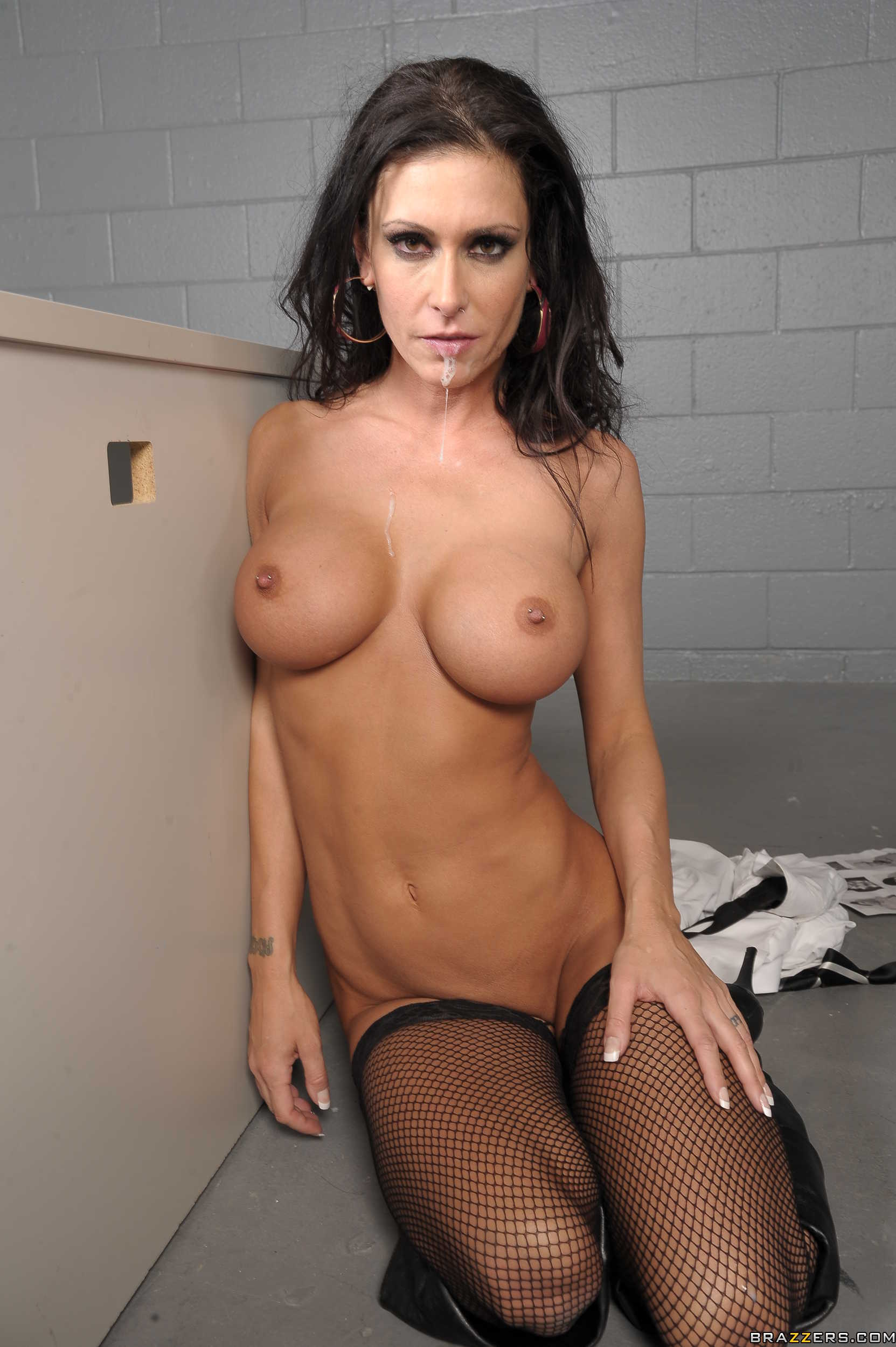 Dark haired milf liz
