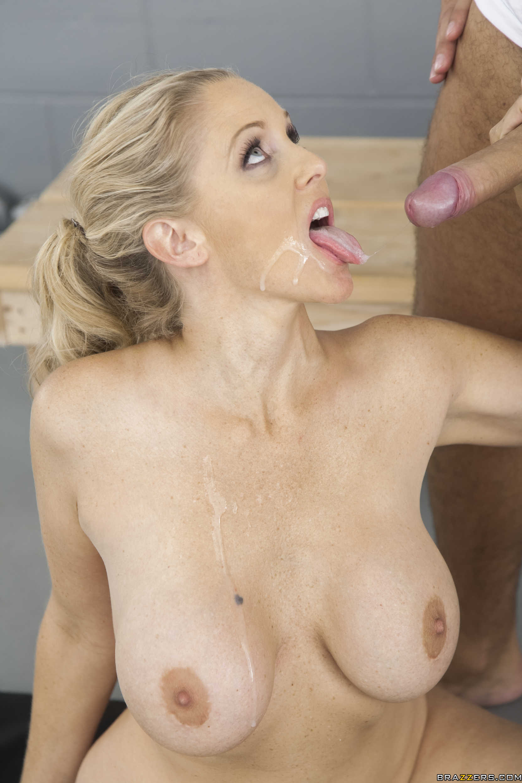 Julia ann huge cumshot