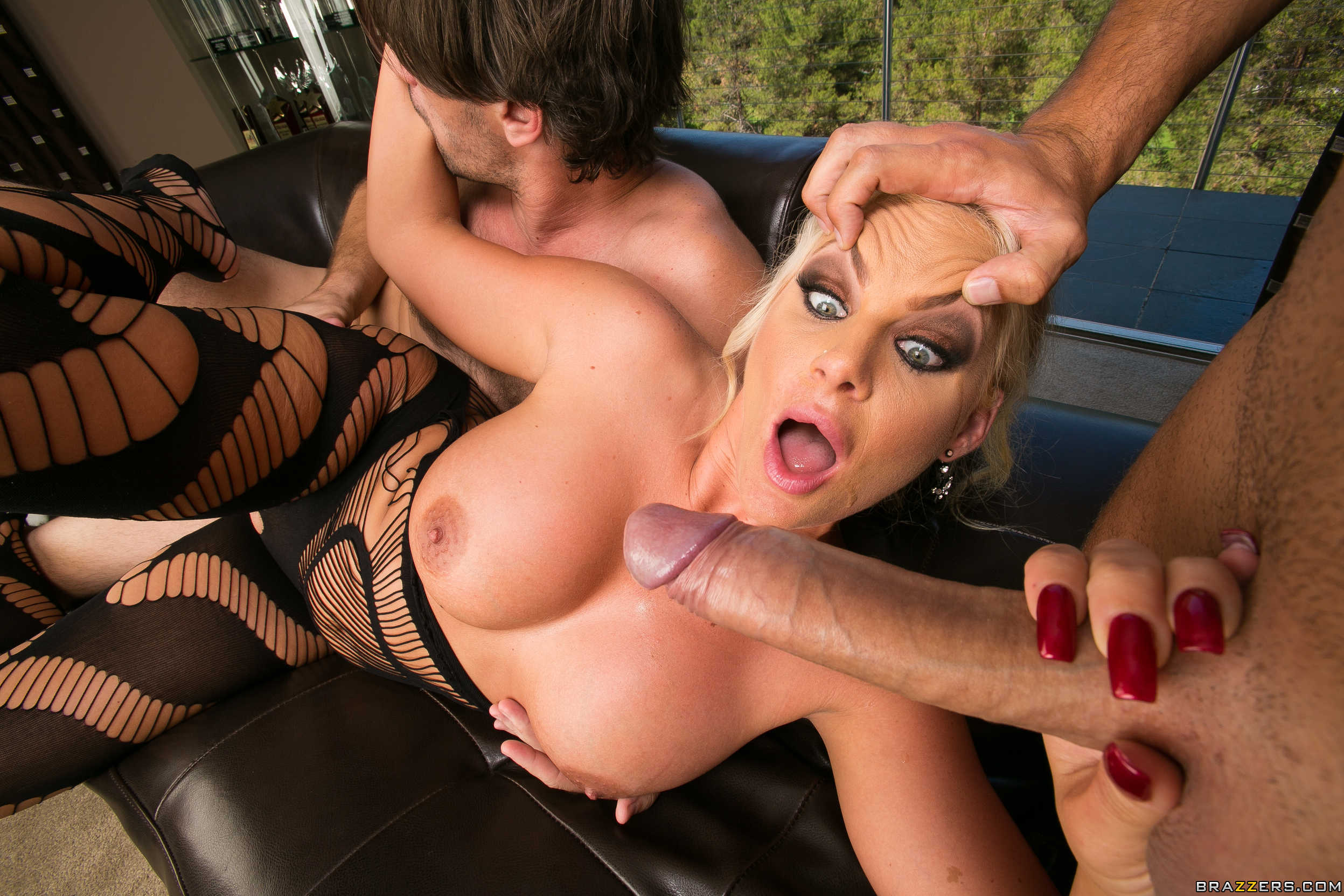 Busty mature threesome tube