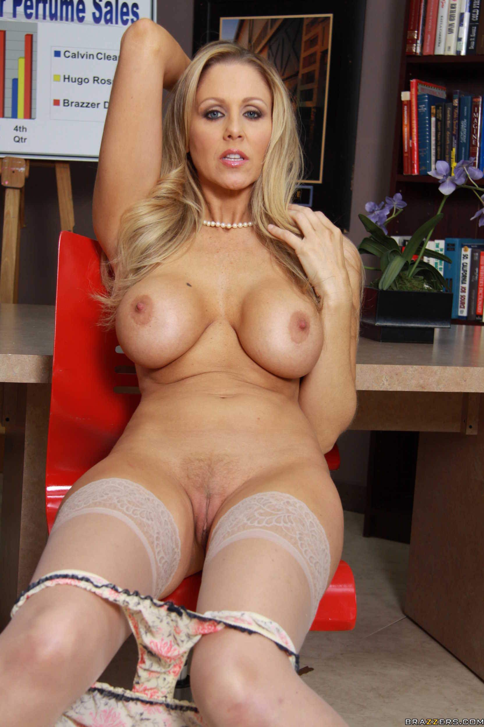 image World famous milf julia ann in a sweater amp fucks herself