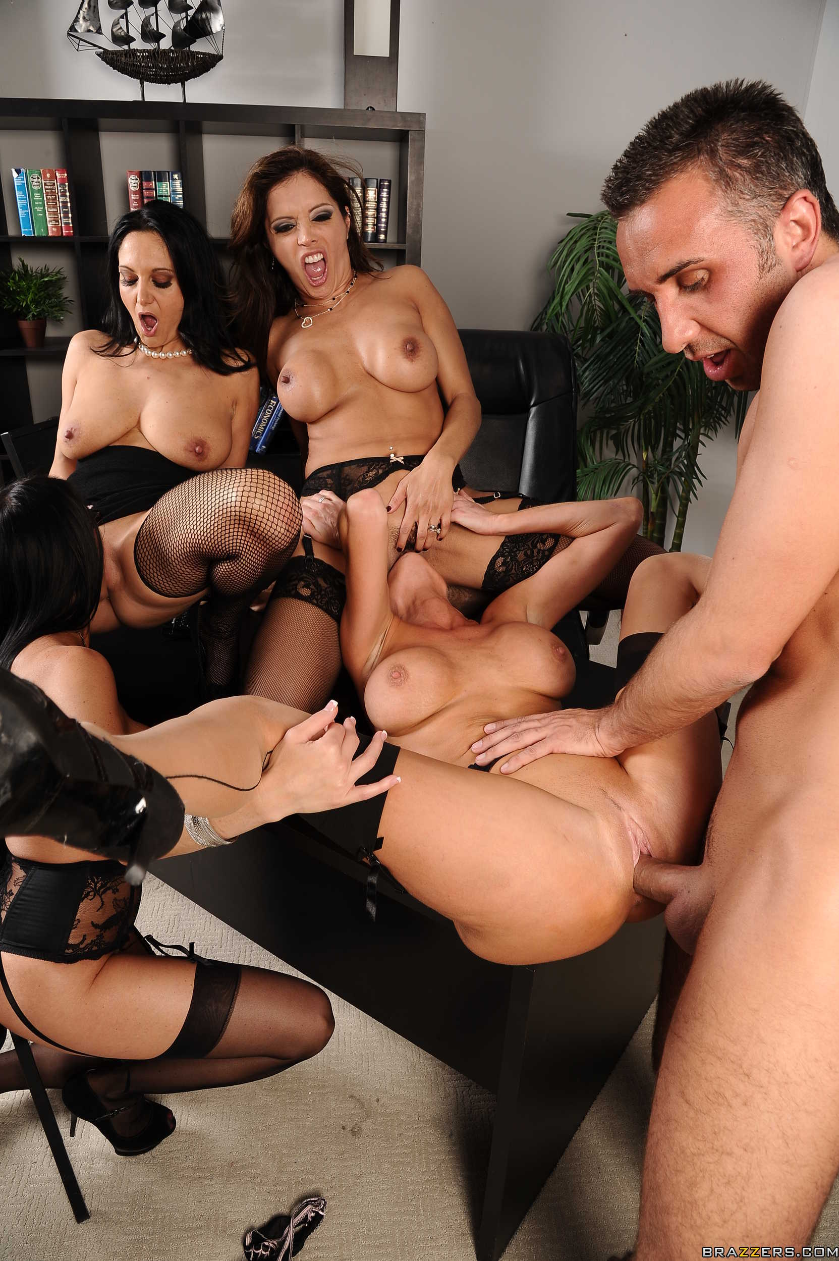 mom office orgy