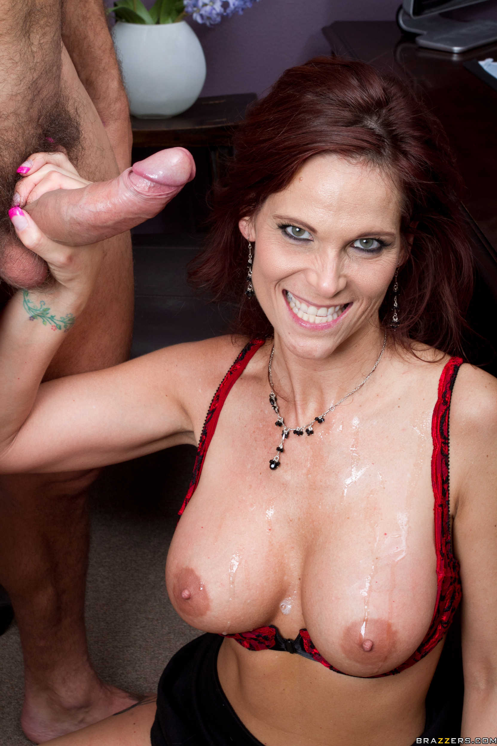 Incredible Redhead Anal &fearsome Creampie Casting
