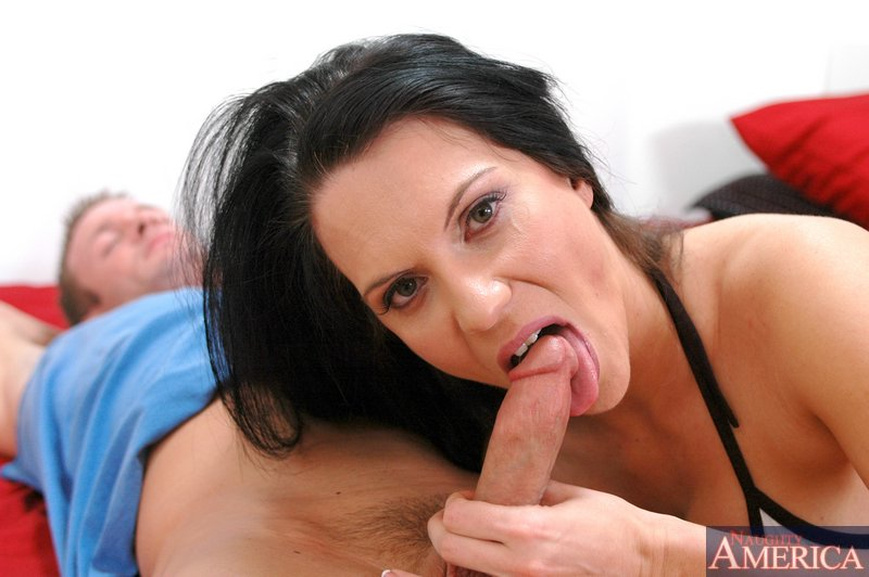Cock shame Friends mom cee facial
