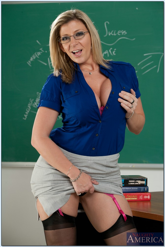 image Busty milfs teacher always finds common ground with students