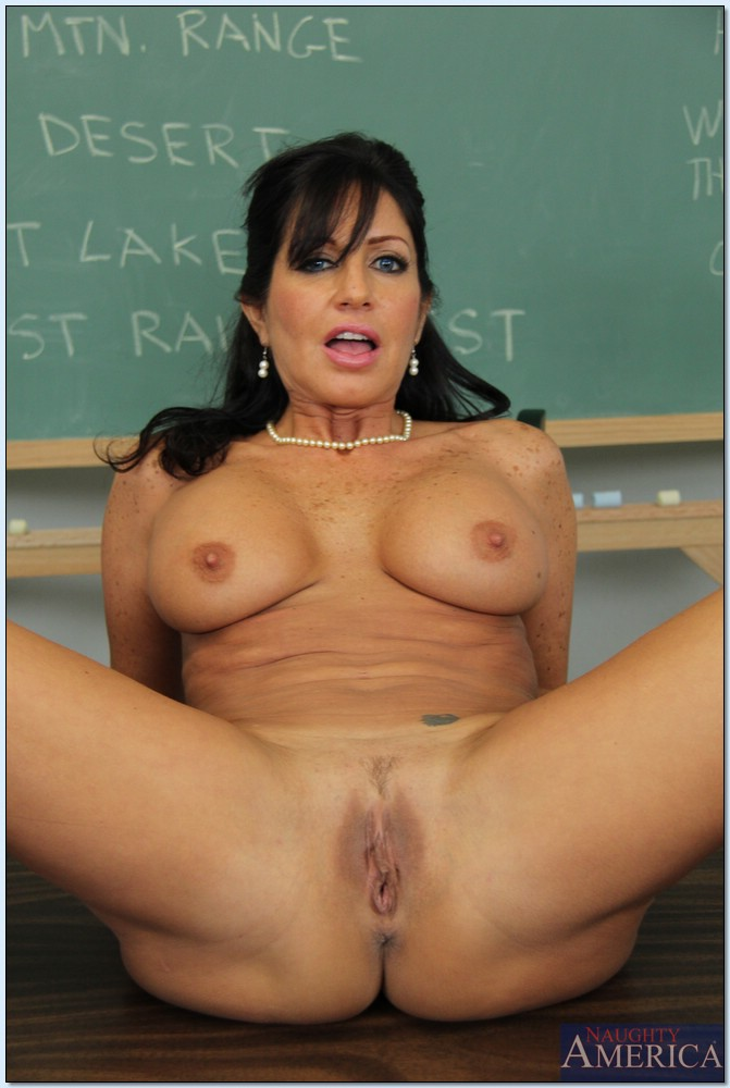 Apologise, mature brunette teacher that would