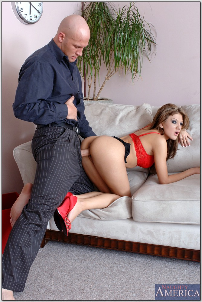 Mia rose naughty office