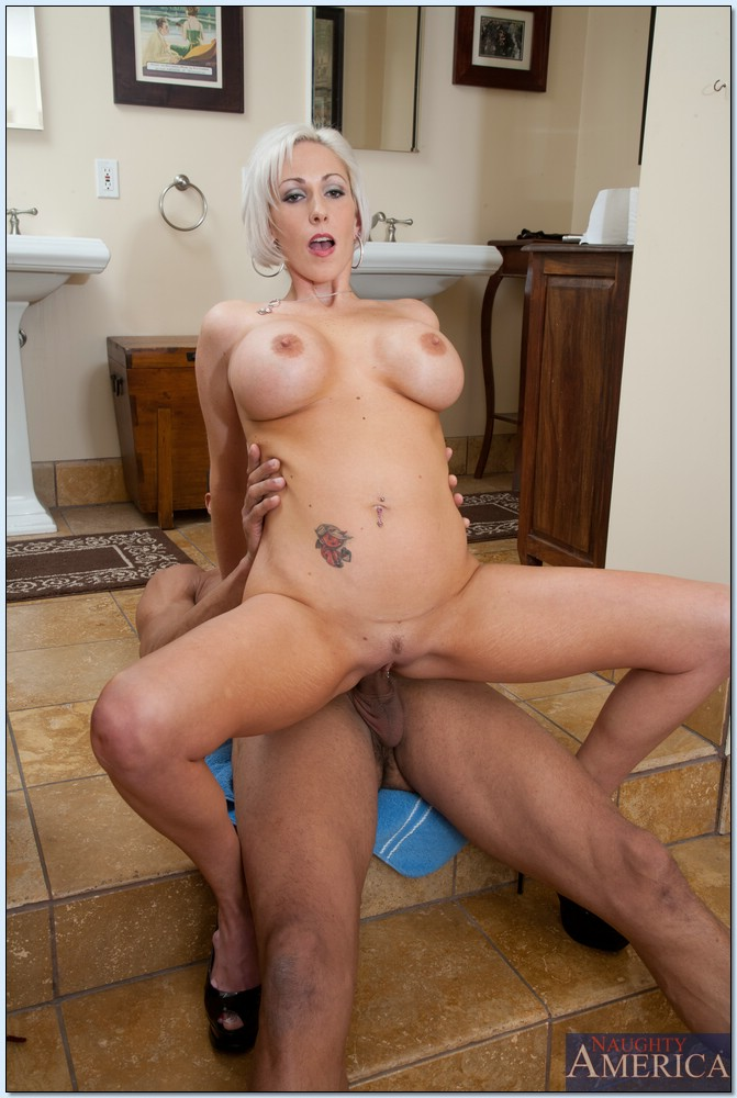 A lovely mom drilled in all positions by not her son 4